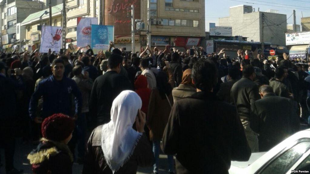 29_December_2017_protests_in_Kermanshah_Iran