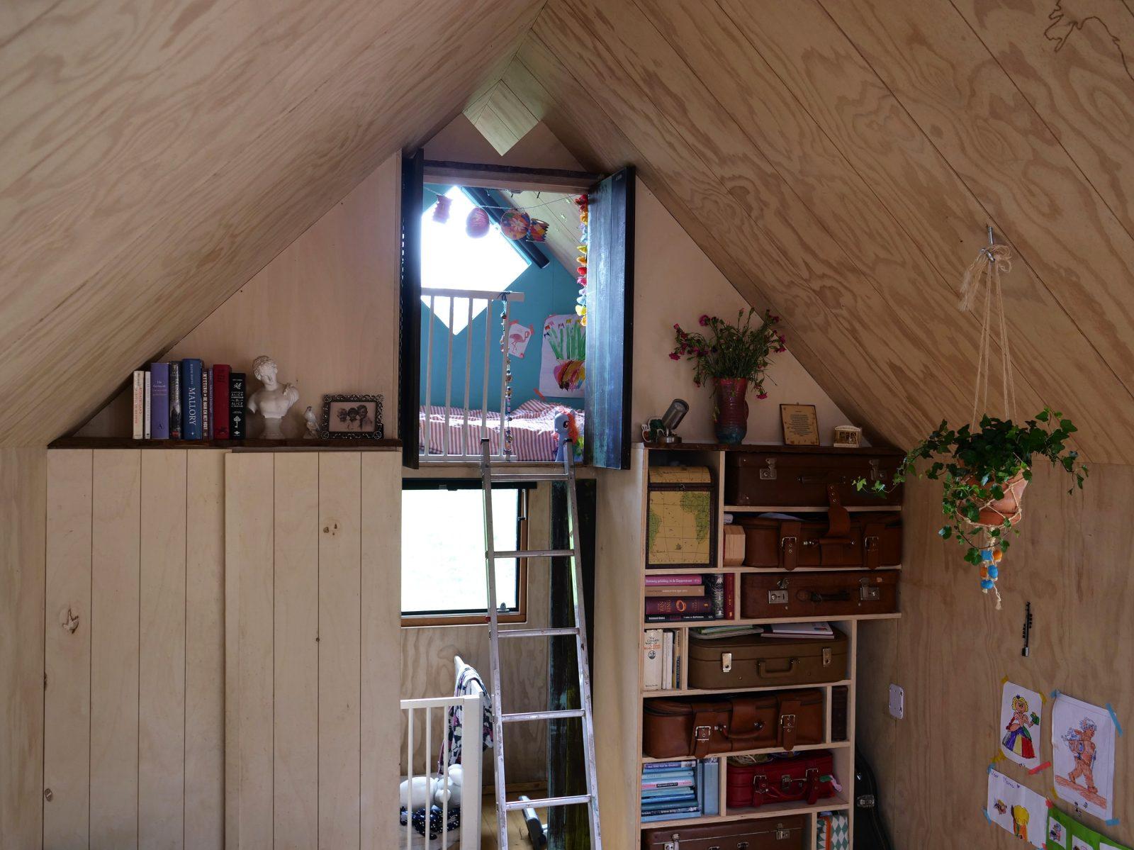 Totaalshot-interieur