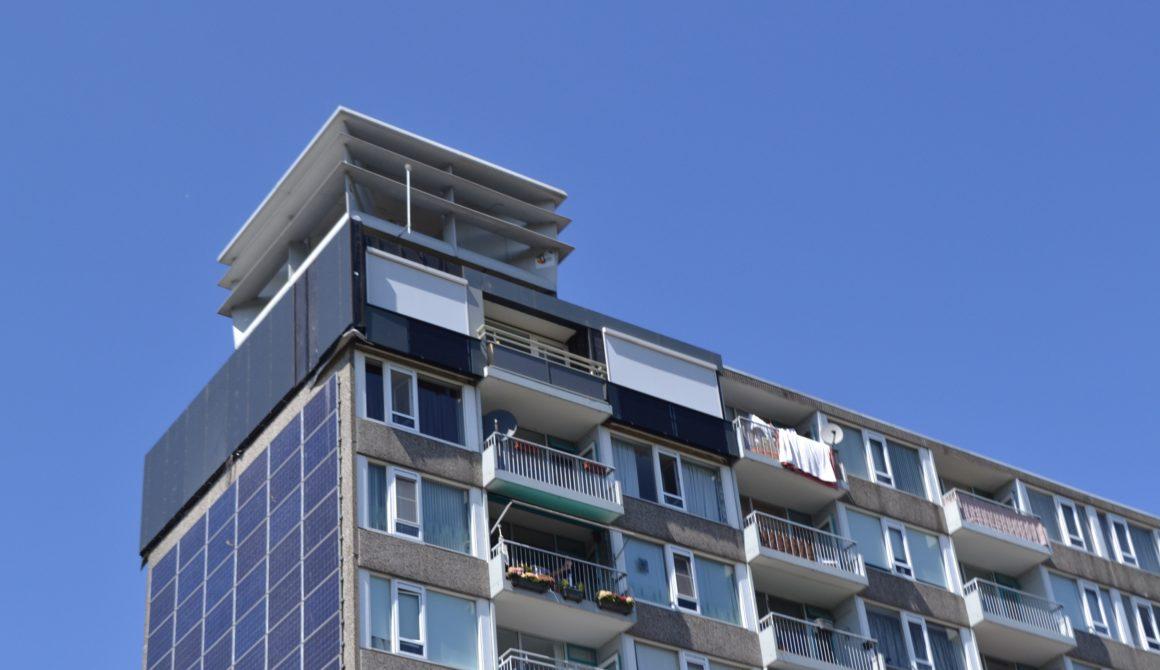 Energieleverende flat
