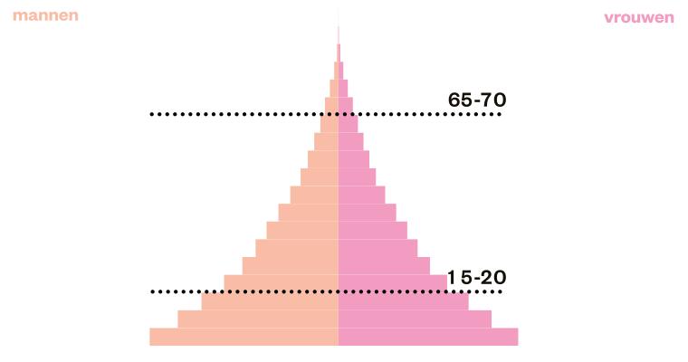 bevolkingspiramide piramide