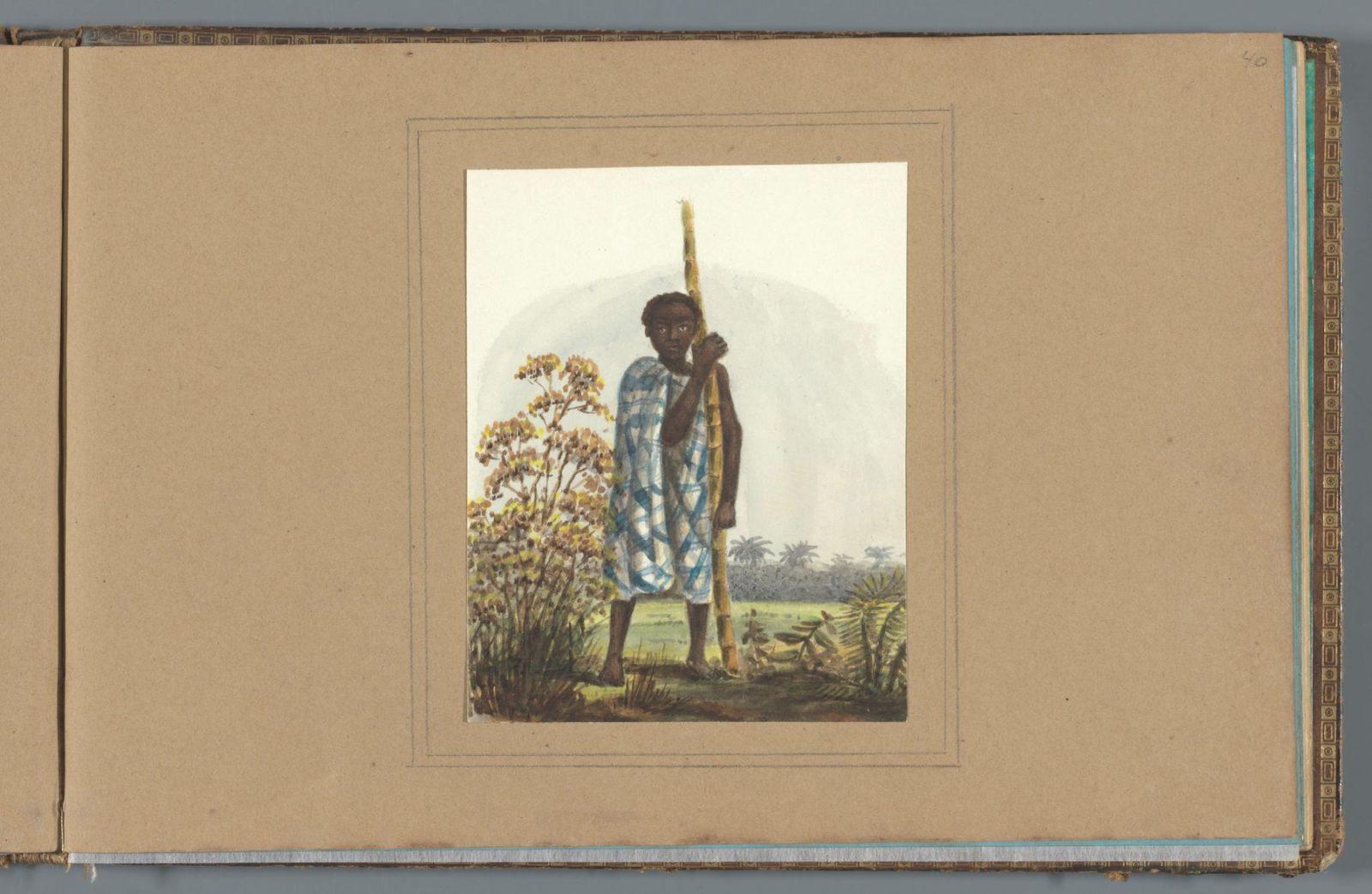 Jongen-met-grote-stengel-suikerriet2c-Jacob-Marius-Adriaan-Martini-van-Geffen2c-in-of-na-ca.-1850-in-of-voor-ca.-1860-Collectie-Rijksmuseum