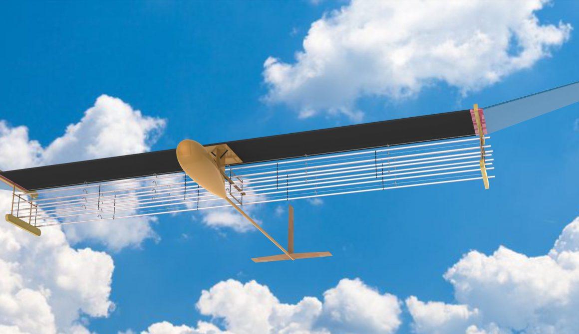 Uitstootloos vliegtuig