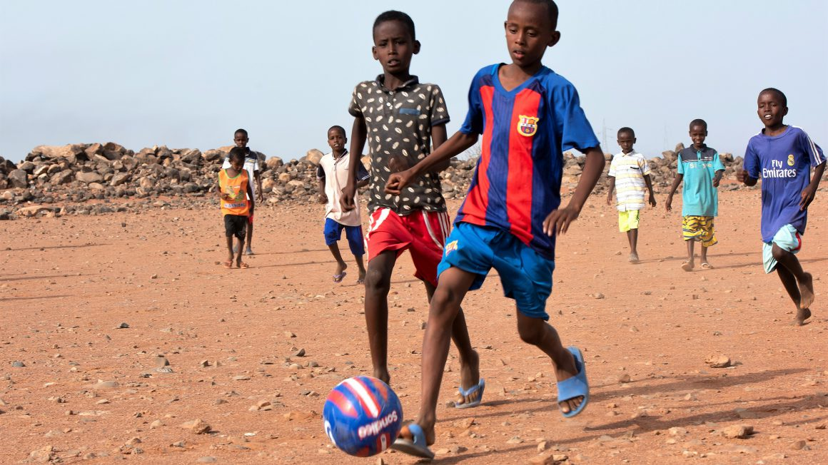Soccer at Chebelley Village