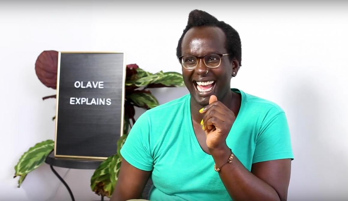 OlaveExplains queer