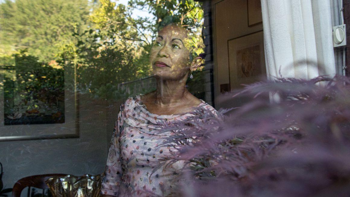 Marilyn Haimé liggend