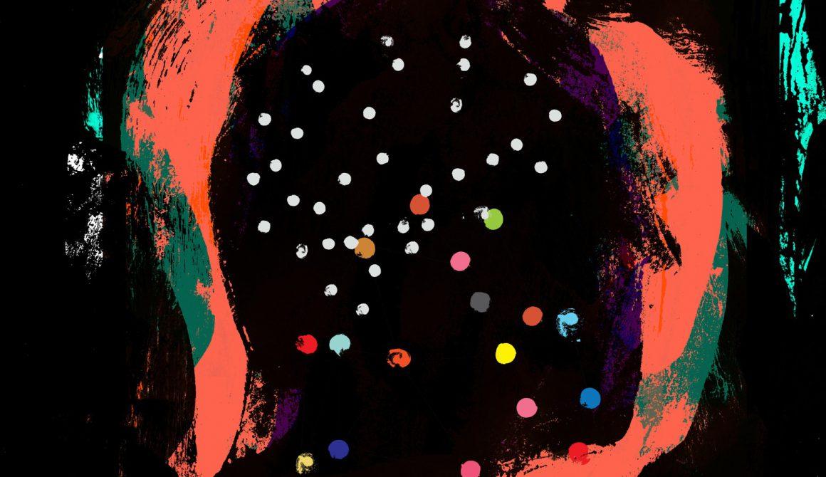 Mystery Novel Cover, Dark Head Silhouette, Illustration, Paint Texture, Fine Art, Ink, Drama, Book Cover, Catalog Design, Modern Art, Concept, Brush Stroke, Gallery, Fine Artist, Portrait, Grunge