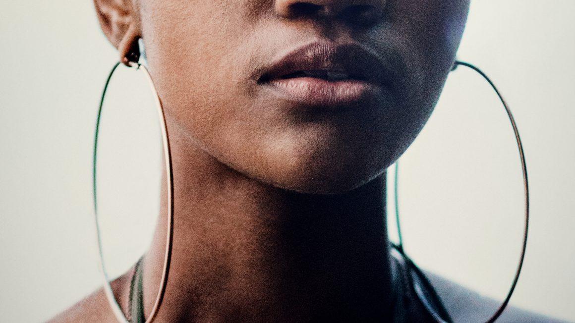 Close Up Portrait of Young Womans Face