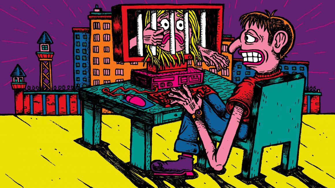 Social Media Illustratie Hoofdbeeld