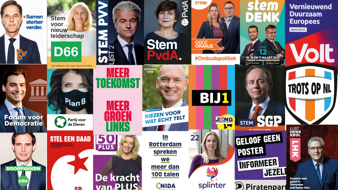 collage verkiezingen