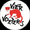Logo Vier Voeters rond