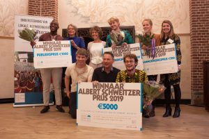 Albert Schweitzer Fonds – winnaars Albert Schweitzer prijs 2019