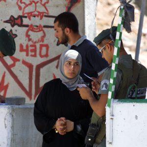 Israeli Checkpoint, Jerusalem
