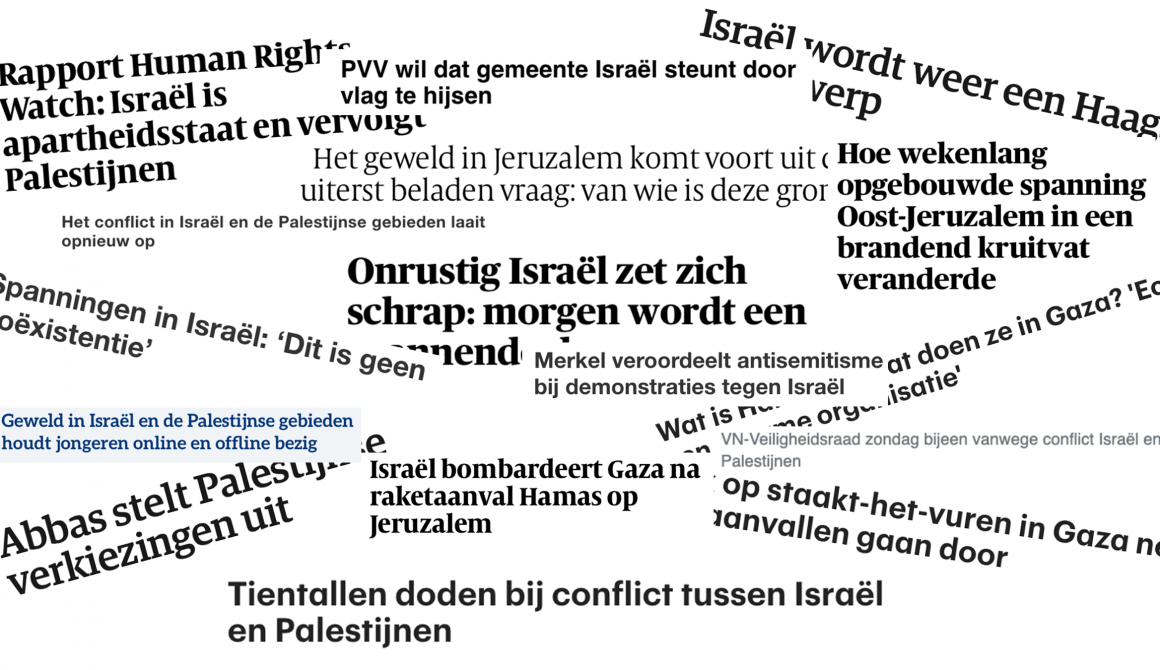 krantenartikelen israel palestina