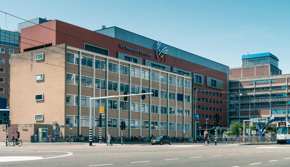 Amsterdam UMC, hospital, medical center, Zuidas in amsterdam, De Boelelaan