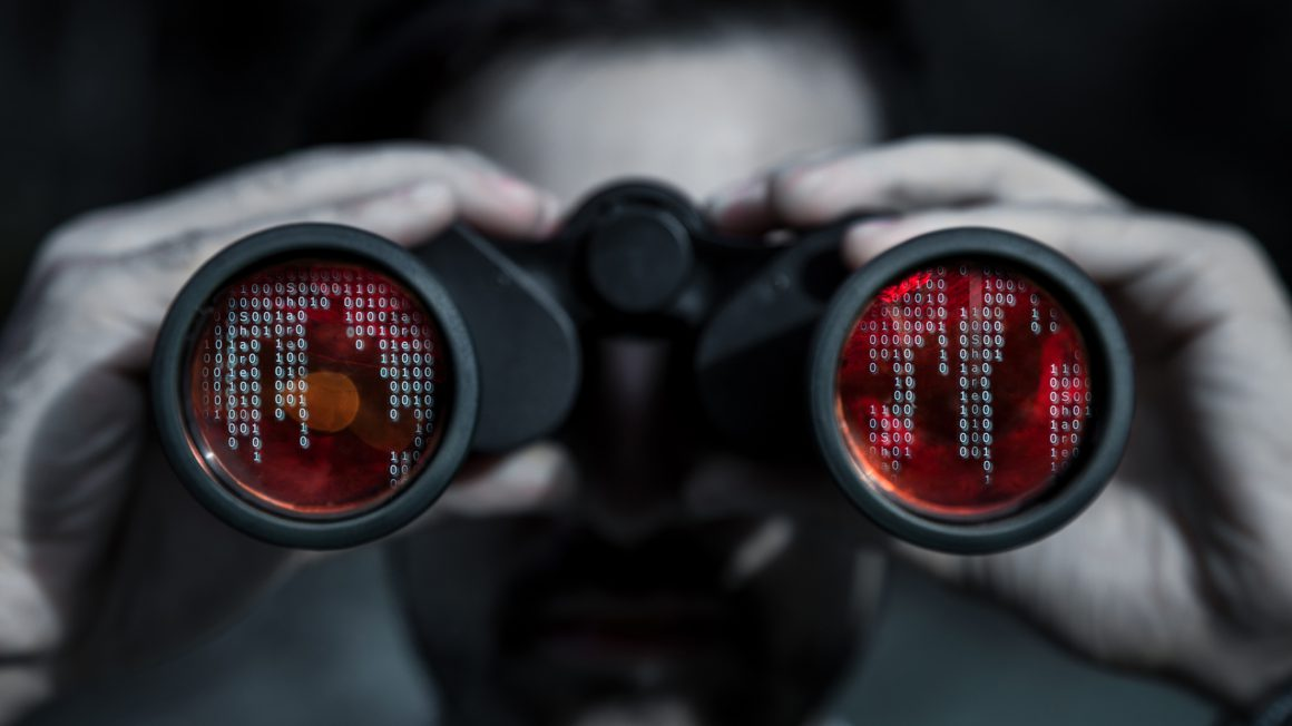 Hacker spy your data file