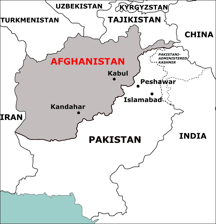 Afghanistan-in-de-regio-2
