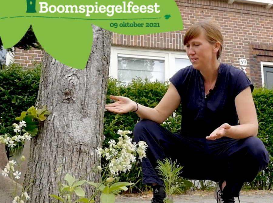 Laura met kop Boomspiegelfeest 9 oktober